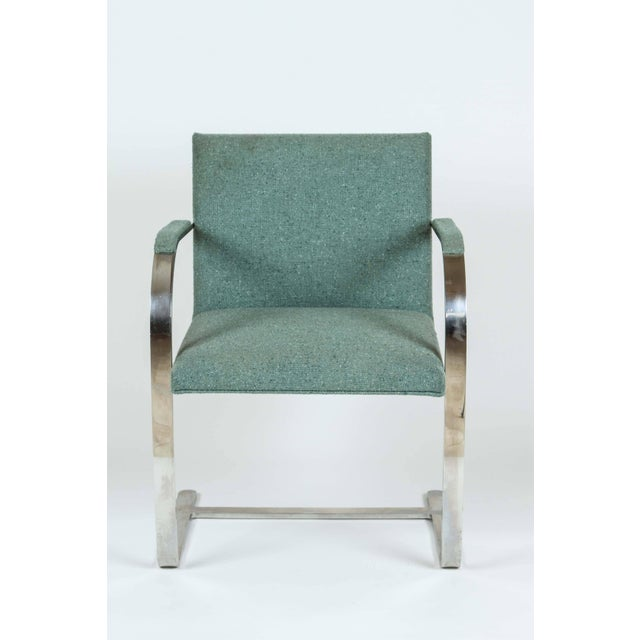 Vintage Mid Century Mies Van Der Rohe Brno for Knoll Chair- a Pair For Sale In Los Angeles - Image 6 of 10