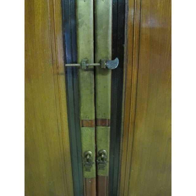1900 - 1909 Antique Chinese Elmwood Armoire For Sale - Image 5 of 7