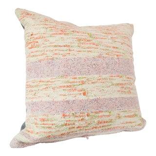 Lavender Stripe Chaput Pillow For Sale