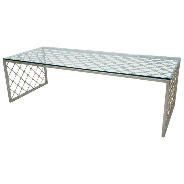 """""""Tour Eiffel"""" Coffee Table After Jean Royere For Sale - Image 9 of 9"""