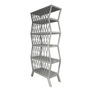 Hollywood Etagere - Light Gray For Sale
