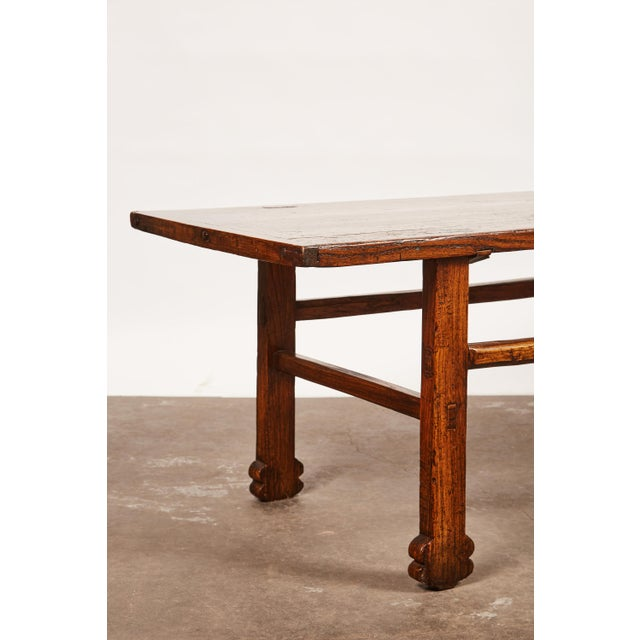 Early 19th Century Chinese Elm Table For Sale - Image 9 of 9
