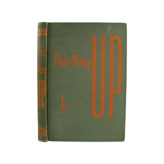 Vintage 1946 'This Way Up' Book For Sale