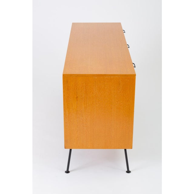 """Black Raymond Loewy's """"Accent"""" Line Nine-Drawer Dresser for the Mengel Company For Sale - Image 8 of 13"""