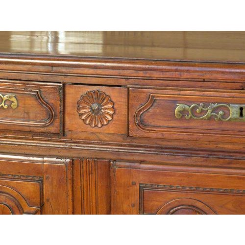 French Circa 1780 Louis XVI Period French Buffet For Sale - Image 3 of 5