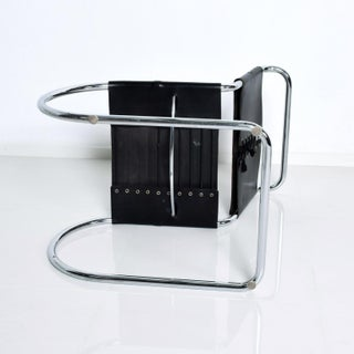 Knoll, Ludwig Mies Van Der Rohe, Mr Chair Tubular Chrome Leather Chair Preview