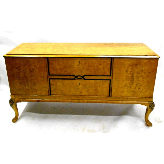 1880s Danish Birch Credenza/Buffet - Image 2 of 7