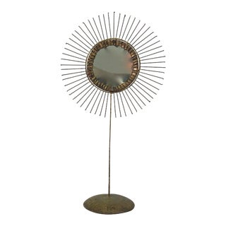 Curtis Jere Sunburst Mirror, Circa 1967 For Sale
