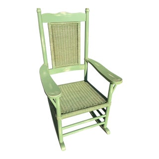 Vintage Paleck Rocking Chair For Sale