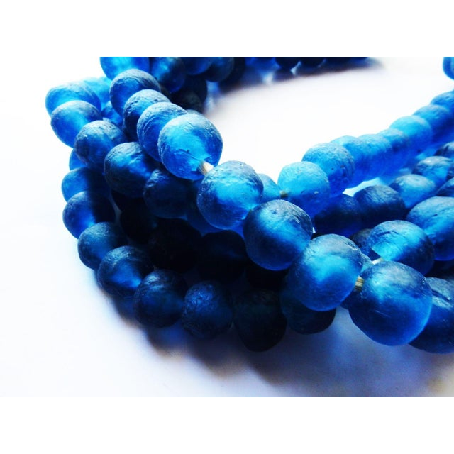 African Jumbo Glass Trade Bead Strands - Set of 5 - Image 3 of 8