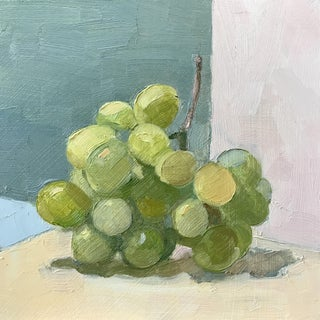 """""""Grapes on Green"""" Original Oil Painting"""