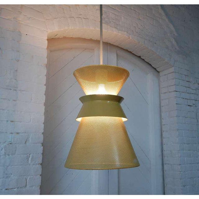 Gerald Thurston Large Perforated Double Cone Pendant by Gerald Thurston For Sale - Image 4 of 4