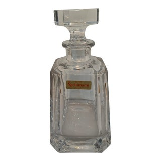 Nachtmann Crystal Whiskey Decanter For Sale