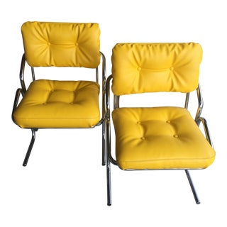 "Vintage Mid Century Jerry Johnson ""Arcadia"" Chairs - a Pair For Sale"