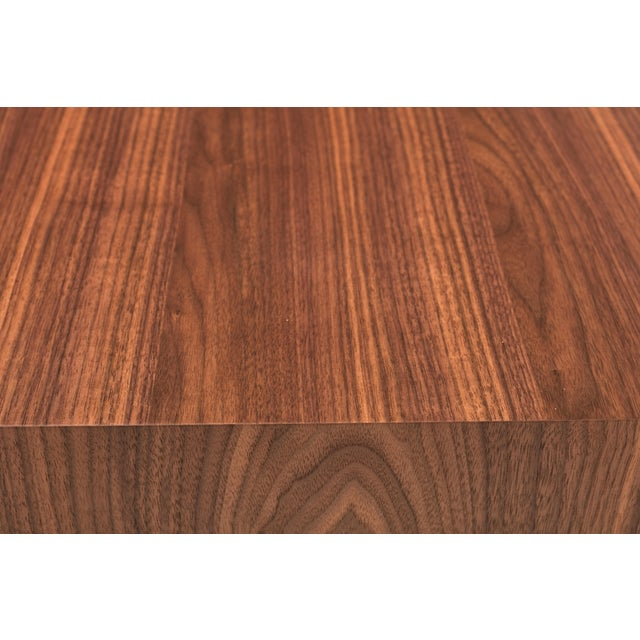 Not Yet Made - Made To Order Debra Dining Table, Walnut For Sale - Image 5 of 6