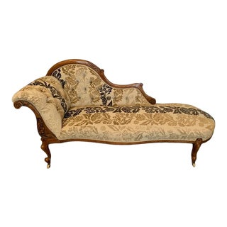 Antique 19th Century Chaise For Sale