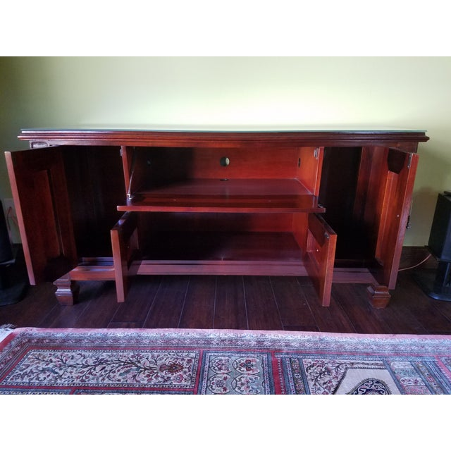 South Cone Brentwood Cognac Credenza - Image 5 of 6