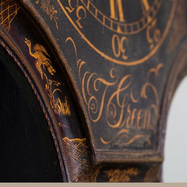 Mid 18th Century T. Green: Tavern Clock with an 8-day Timepiece Movement For Sale - Image 5 of 6