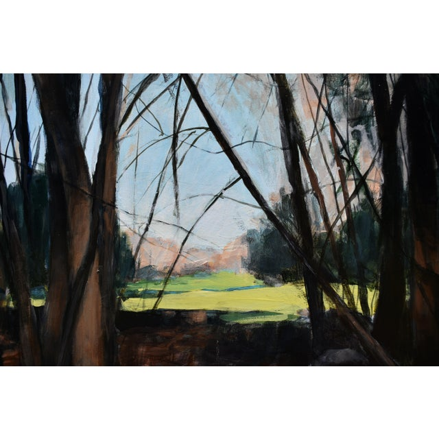 """Stephen Remick Stephen Remick """"Spring Fields"""" Contemporary Painting For Sale - Image 4 of 11"""