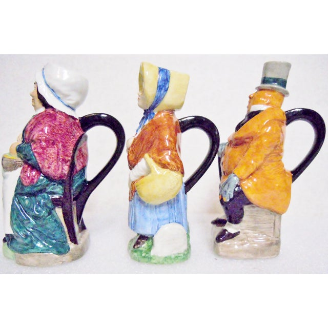 Wood & Son Wood & Sons England Dickens Character Pitchers - Set of 3 For Sale - Image 4 of 8