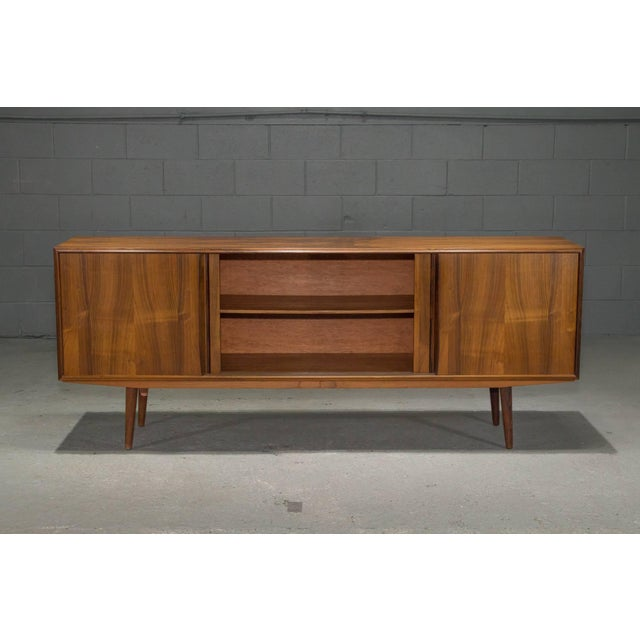 Mid 20th Century Danish Modern Rosewood Sideboard For Sale - Image 5 of 10