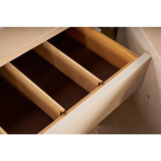 Tan Ello Cerused Oak Cabinet For Sale - Image 8 of 9