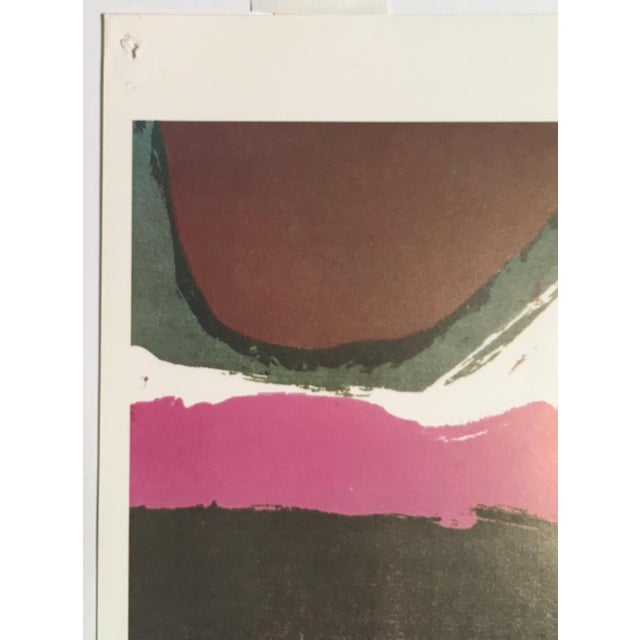 "Abstract 1960s Abstract Print, ""Earth as a Sign"" by Sister Corita For Sale - Image 3 of 6"