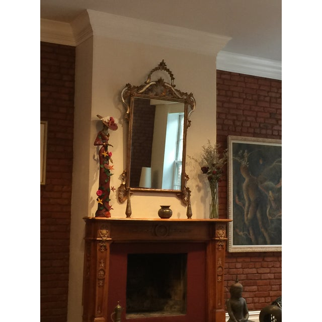1900s Argentinian Gold Leaf Mirror For Sale In New York - Image 6 of 7