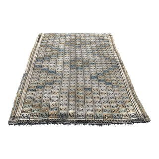 Nomadic Turkish Kilim Rug - 5′8″ × 7′10″ For Sale