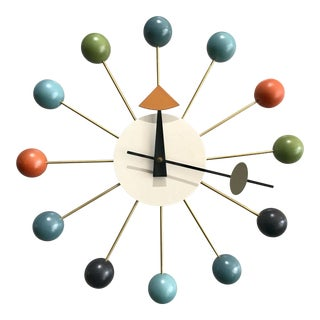 George Nelson Ball Clock by Vitra For Sale