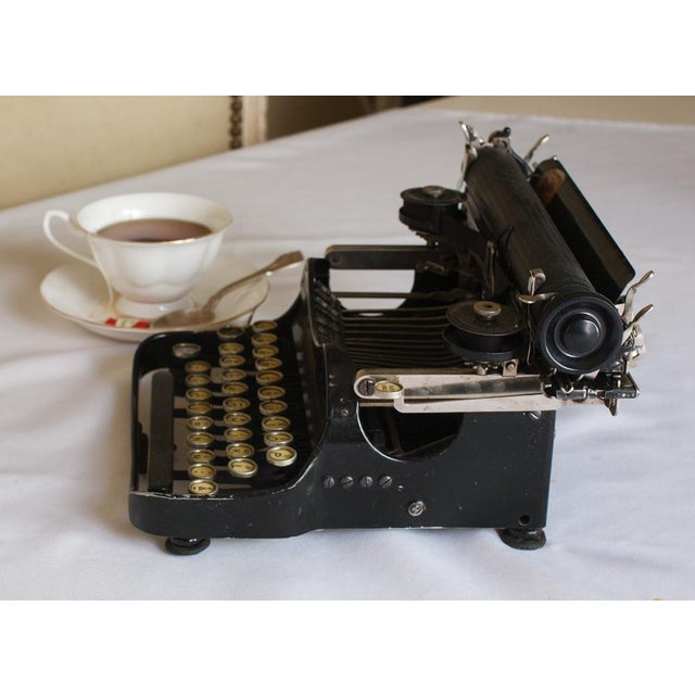 Traditional 1912 Corona Portable Folding Typewriter For Sale - Image 3 of 9