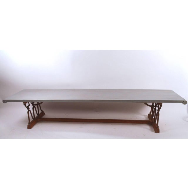 "1950s John Van Koert for Drexel ""Casa Del Sol"" Bench Coffee Table For Sale - Image 5 of 10"