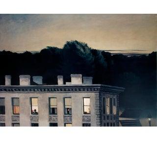 "Edward Hopper House at Dusk 23.75"" X 29.25"" Poster 1991 Realism For Sale"