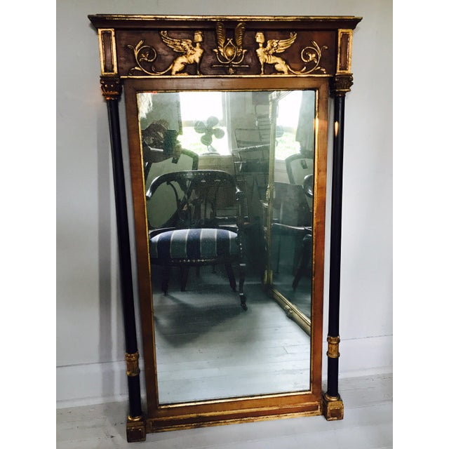 Gold Friedman Brothers Regency Mirror For Sale - Image 8 of 8