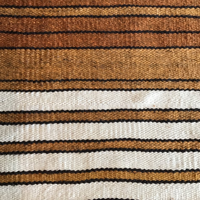 Mid-Century Handwoven Rug - Image 6 of 8