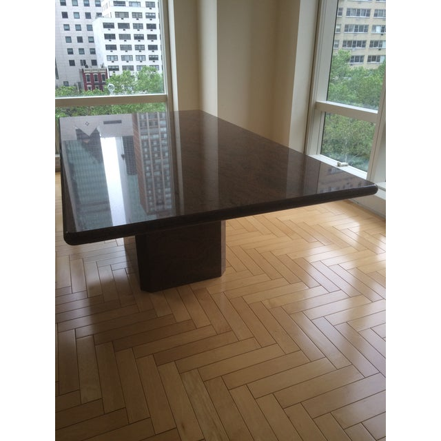 Modern Marble Dining Table - Image 2 of 5