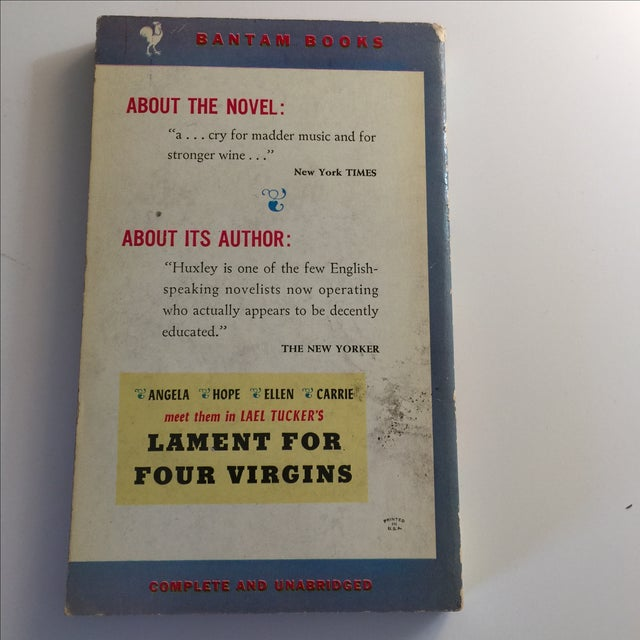 Traditional Antic Hay by Aldous Huxley, 1953 For Sale - Image 3 of 5