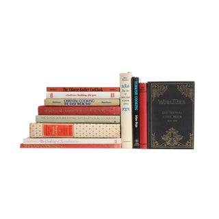 World Continental Cooking - Set of Twelve Decorative Books
