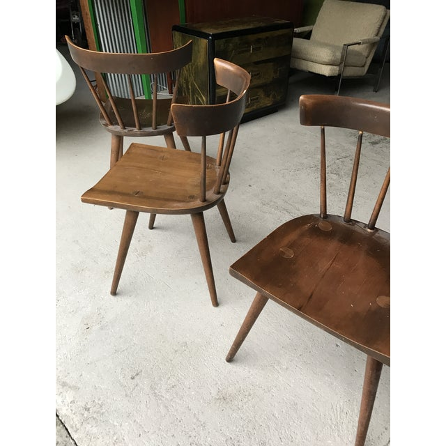 Paul McCobb S/3 Paul McCobb Planner Group Dining Chairs For Sale - Image 4 of 13