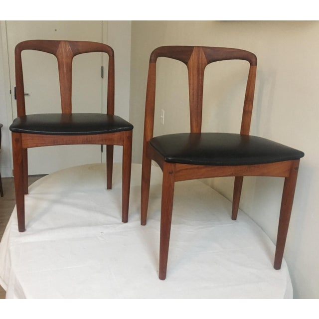 Teak Juliane Dining Chairs by Johannes Andersen - A Set of Two - Image 5 of 10