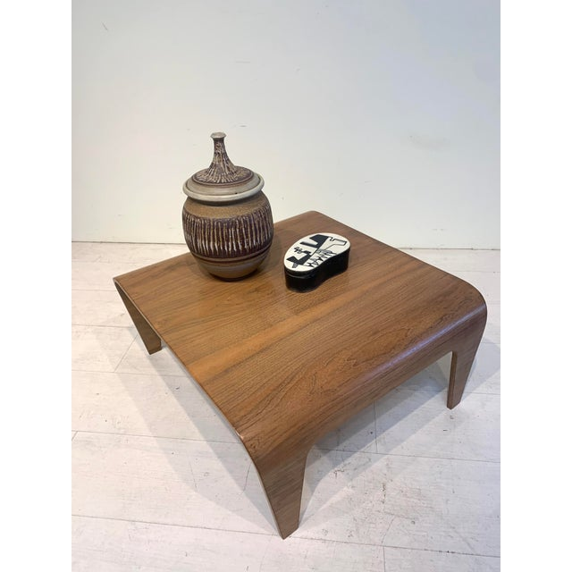Mid-Century Marcel Breuer for Isokon Design Low Side Table For Sale - Image 10 of 11