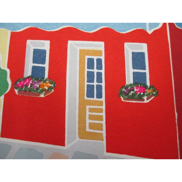 2000 - 2009 Vintage Lithograph Titled: Montmartre Signed by the Artist: Grace For Sale - Image 5 of 6