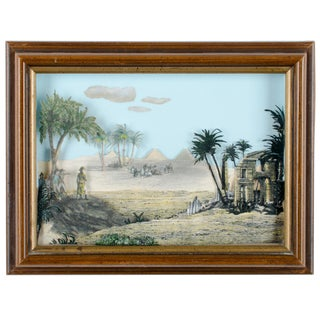 Napoleon Egypt Expedition 3D Paper Shadowbox Diorama For Sale