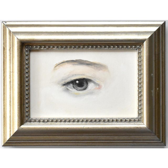2020s Contemporary Lover's Eye Painting by Susannah Carson For Sale - Image 5 of 5