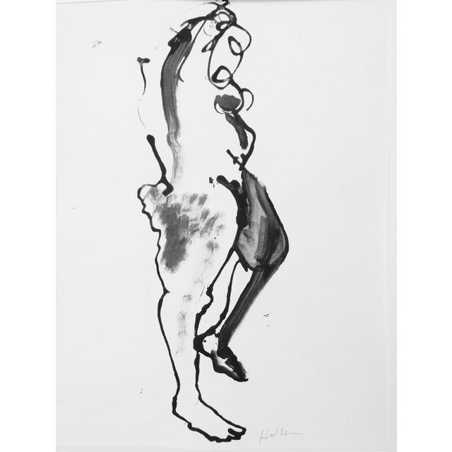 Martha Holden Nude Ink Drawing - Image 2 of 5