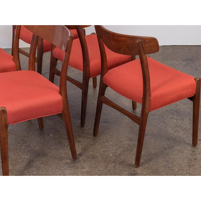 Set of Six Hans J. Wegner Ch-23 Dining Chairs For Sale In New York - Image 6 of 11
