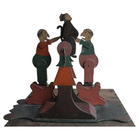 1900's Hand Made Articulated Folk Art Toy - Image 1 of 4