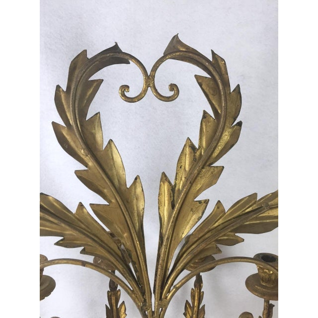 Hollywood Regency Candle Sconce For Sale - Image 11 of 11