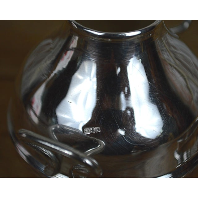 Egyptian Sterling Silver Warming Pot - Image 8 of 10