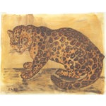 Leopard in Old Master Colors Painting by Cleo Plowden